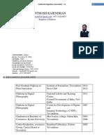SANTHOSH RAJENDRAN CV.docx