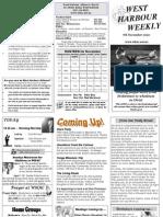Newsletter 10.11.07