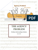 The Agency problem and solution in corporate world
