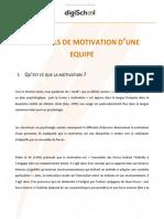 15da4ffe2017f5a3366a65b505f1ca22 Management Les Outils de Motivation Dune Equipe