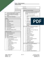 218 Kickoff Meeting Checklist