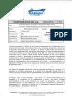 Circular-011 Responsabilidad y Autorizacion Del Capitan