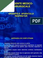 URGENTE MEDICO-CHIRURGICALE- II Respirator.ppt