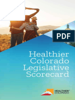 Healthier Colorado's 2019 Legislative Scorecard