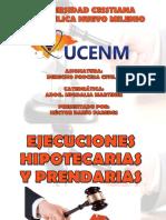 Ejecuciones Hipotecarias y Prendarias Presentacion