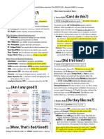 The Gurpsicle Cheat Sheet Gurps in One Page 3