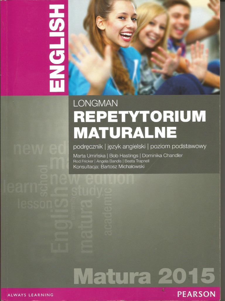 testy maturalne longman pdf