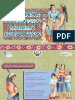Rota folio sobre derechos sexuales y reproductivos