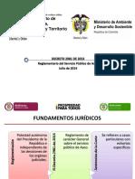 Presentación Del Decreto 2981 de 2013