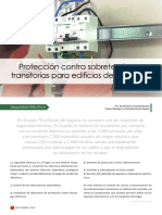 Proteccion Contra Sobretensiones Transitorias