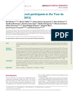 Mortality of French participants in the Tour de France (1947–2012) - Marijon 2013