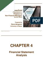 Ch-4 Financial Statement Analysis