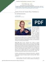 Santa Evita de Tomás Eloy Martínez y La Metanarración. – Critica.cl