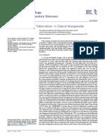 Soft Tissue Tuberculosis a Clinical Masquerader