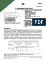 Adc Ads5474 14bits Conversor Analogico-digital