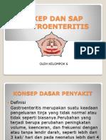 Askep Dan Sap Gastroentritis Ppt