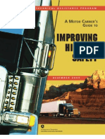A Motor Carrier's Guide to Improving Highway Safety