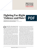 Fighting Far-Right Violence and Hate Crimes