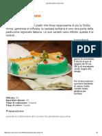 Ricetta Cassata Sciciliana