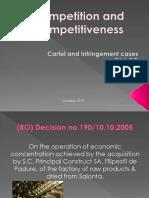 Cartel and Infringement Cases