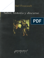 Michel Foucault - Saber, historia y discurso.pdf