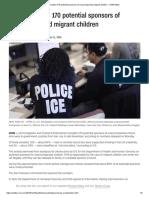 ICE arrested 170 potential sponsors of unaccompanied migrant children - CNNPolitics.pdf