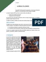 LA BIBLIA Y EL CANON.docx