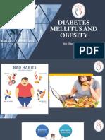 DM dan Obesitas , Materi Dr. Dr. Idar Mappangara, SpPD, SpJP(K) Obesitas Dan DM-Indonesia