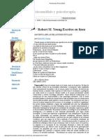 Robert Young La Ciencia Es Una Relación Social