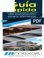 Guia Rapida de Instalacion Laminas - Mexalit