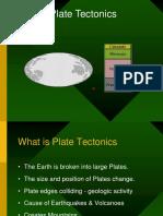 Earth and PlateTectonics