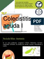 Colecistitis Aguda Alitiasica