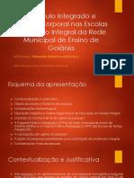 Currículo Integrado e Cultura Corporal em Escolas da Rede Municipal de Goiânia