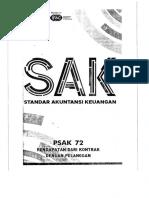 PSAK 72 (2018) - Pendapatan Dari Kontrak Pelanggan
