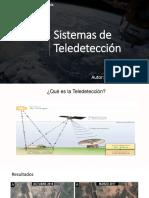 sistemas de teledeteccion