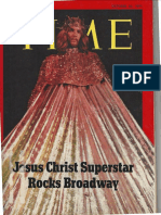 Time magazine article on Jesus Christ Superstar, Oct. 25, 1971-10-25-71