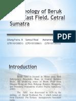 The Geology of Beruk NorthEast Field, Cetral