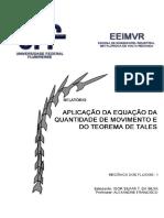 Mecânica dos Fluidos - Relatório Altura Máxima V1.1