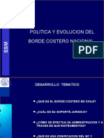 Presentacion Politica y Evolucion Del Borde Costero
