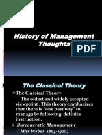 History of Mgt