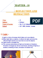 Light-reflection and Refraction