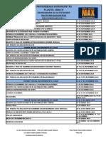Cronograma Matutino 2019-1 (Docentes)