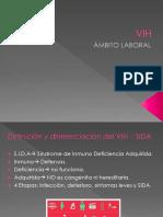 VIH - Ámbito laboral