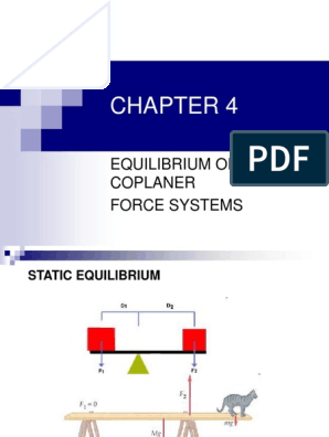 67761843-CHAPTER-4-Equilibrium-of-Coplanar-Force-Systems pdf