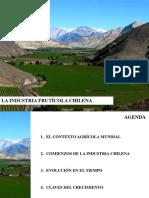 Crecimiento de Las Exportaciones. El Éxito de La Industria Frutícola en Chile. Gustavo Yentzen, Chile.