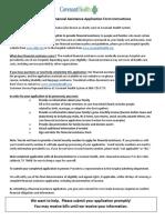 Financial Assistance Application SJH TX.englISH