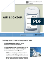 Qualcomm WiFi and 3G CDMA