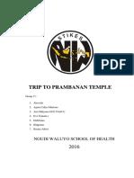 Trip to Prambanan Temple