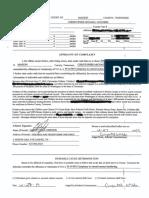 Christopher Michael Childers Affidavit