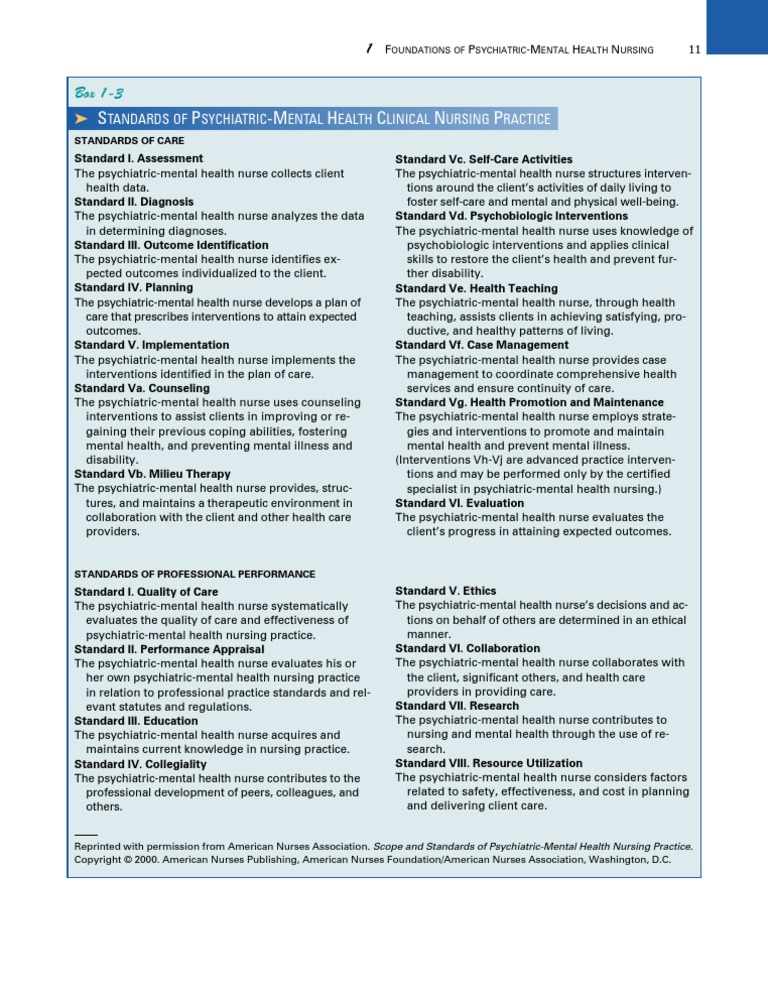 Psych Videbeck 19 Psychiatric And Mental Health Nursing Nursing